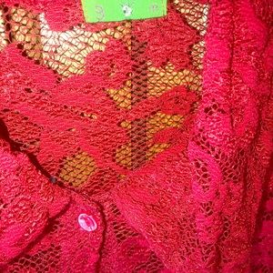 Cranberry Lacey blouse